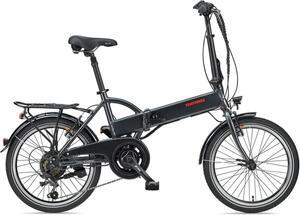 Telefunken 20' Falt E-Bike F820 Kompakt 6 Gang Kettenschaltung, anthrazit