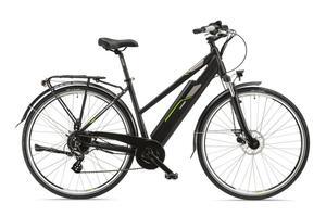 Telefunken E-Bike Damen Elektrofahrrad Alu 28 Zoll mit 8-Gang Shimano Acera Kettenschaltung, Pedelec Trekkingrad mit Hinterrad-Motor 250W 13Ah, 36V Akku, XC920 Expedition