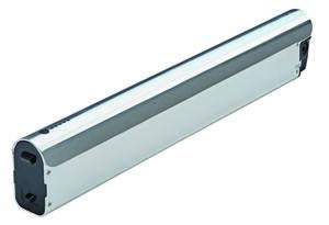 integrierter Rahmenakku LI-Ionen 36V/ 13,6Ah (490Wh)