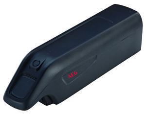 AEG Downtube Akku für Elektrofahrrad, Li-Ionen 36 V / 10,4 Ah (375 Wh)