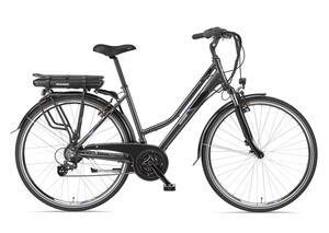 Telefunken E-Bike Damen Elektrofahrrad 28 Zoll mit 21-Gang Kettenschaltung, Pedelec Trekkingrad mit Hinterrad-Motor 250W 10,4Ah, 36V Akku, XT480 Expedition