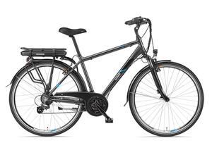 Telefunken E-Bike Herren Elektrofahrrad 28 Zoll mit 21-Gang Kettenschaltung, Pedelec Trekkingrad mit Hinterrad-Motor 250W 10,4Ah, 36V Akku, XT481 Expedition
