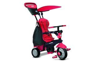 smarTrike®'s Glow Touch Steering® Dreirad 4-in-1 Trike - Farbe: Glow red