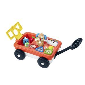 Fisher-Price Lernspaß Bollerwagen