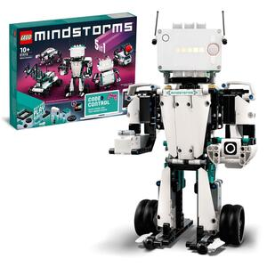 LEGO 51515 MINDSTORMS Roboter-Erfinder Robotik-Kit, 5-in-1 App-gesteuertes, programmierbares, interaktives Spielzeug für Kinder