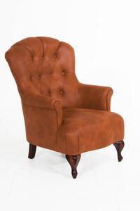 Max Winzer Camilla Sessel - Farbe: cognac - Maße: 77 cm x 83 cm x 101 cm; 2958-1100-2078136-F07
