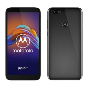 Motorola Moto E6 Play Smartphone, Dual-SIM, 32GB Speicher, Farbe: Schwarz