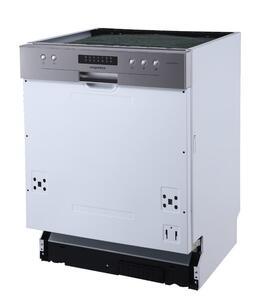 respekta Geschirrspüler Einbau Spülmaschine teilintegriert 60 cm Aquastop