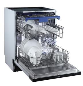 respekta Geschirrspüler Spülmaschine Einbauspülmaschine vollintegriert 60 cm