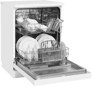 Exquisit Geschirrspüler GSP6012-030E weiss   Standgerät   12 Gedecke   Weiß