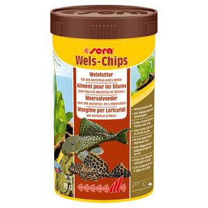 Sera Wels-Chips Fischfutter 250ml