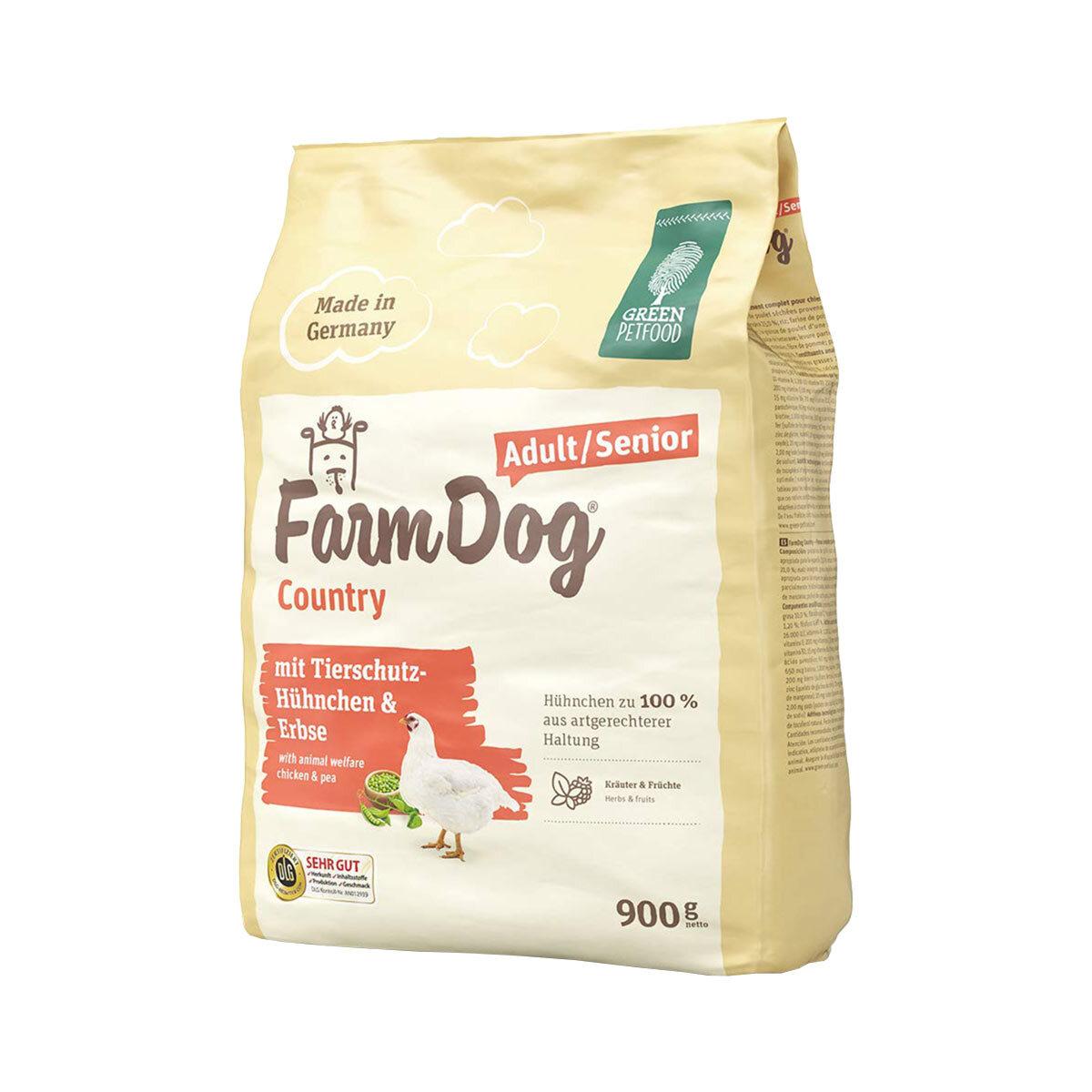 Bild 1 von Green Petfood FarmDog Country 10kg