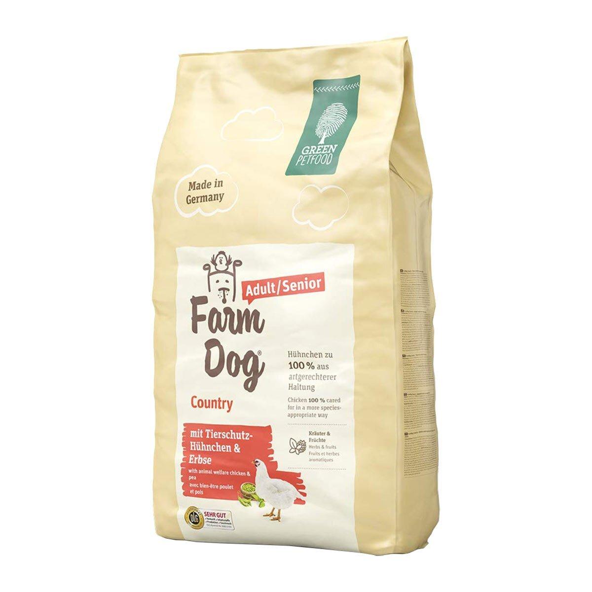 Bild 2 von Green Petfood FarmDog Country 10kg