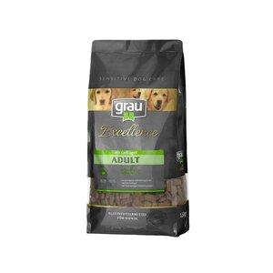 Grau Excellence Hunde-Trockenfutter Adult Classic mit Geflügel 5kg