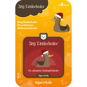 tigercard Sing Kinderlieder:  Die schönsten Weihnachtslieder