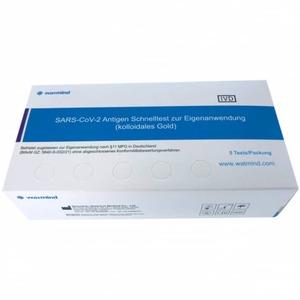 Watmind - SARS-CoV-2 Antigen Schnelltest zur Eigenanwendung - 5er Pack