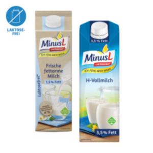 MinusL H-Milch oder Frischmilch 1,5 % Fett