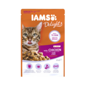 IAMS Naturally oder Delights Katzenfutter