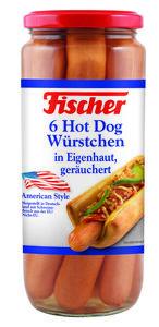 Fischer Hot Dog Würstchen