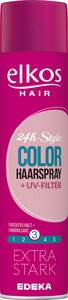 Elkos 24h-Style Color Haarspray + UV-Filter 400 ml