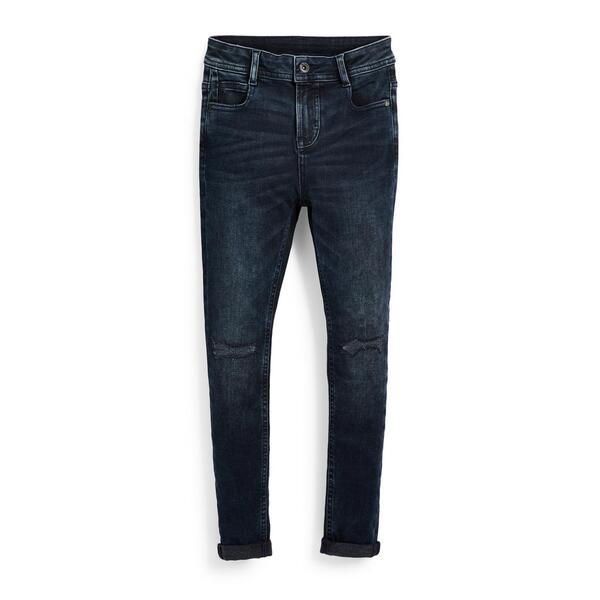 Tiefblaue Superskinny Jeans (Teeny Boys)