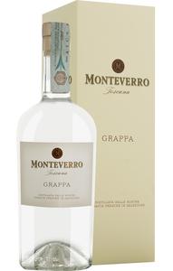 Monteverro Toscana Grappa Bianca in Gp   - Grappa, Italien, trocken, 0,5l