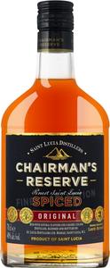 Chairman's Rum Reserve Spiced Original St. Lucia   - Rum, St. Lucia, trocken, 0,7l