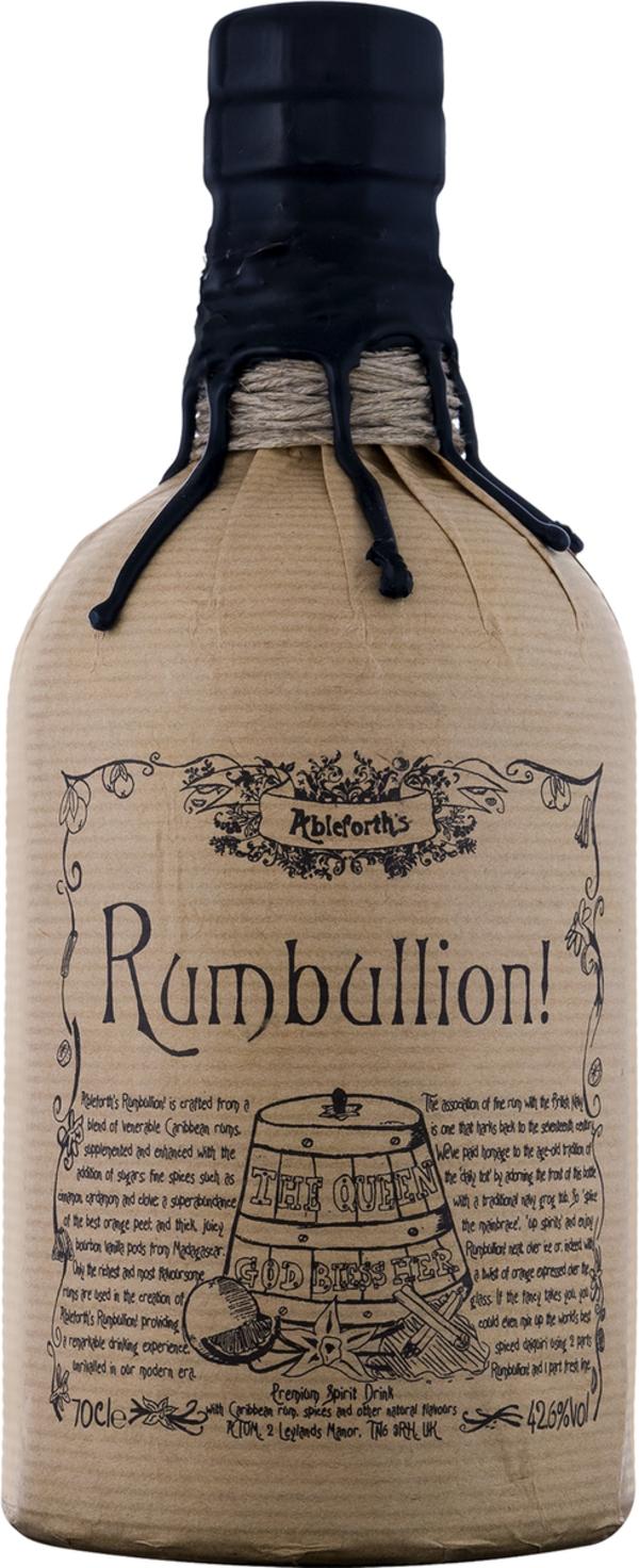 Professor Cornelius Ampleforth Ableforth's Rumbullion! Rum ..., England, trocken, 0,7l
