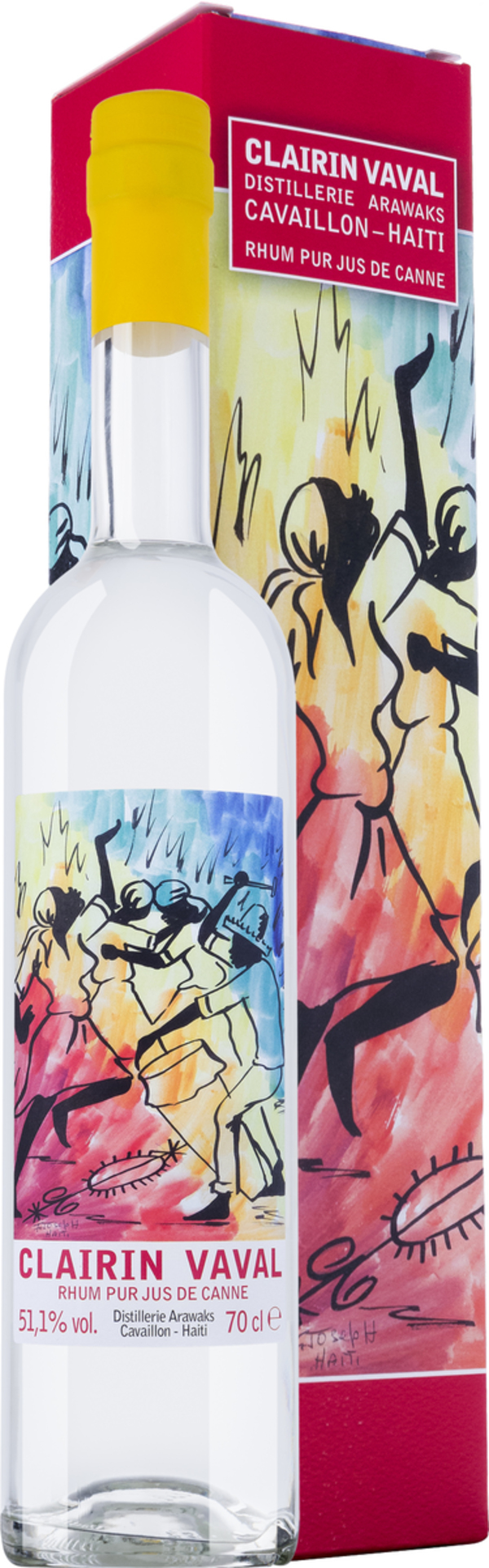 Clairin Vaval Rum in Gp   - Rum - Velier, Haiti, trocken, 0,7l