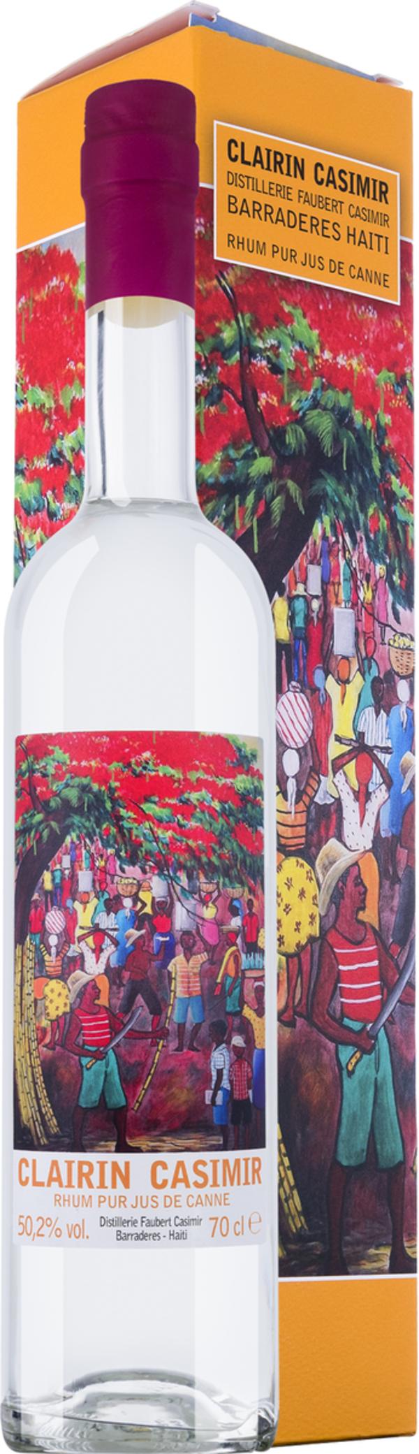 Clairin Casimir Rum in Gp   - Rum - Velier, Haiti, trocken, 0,7l