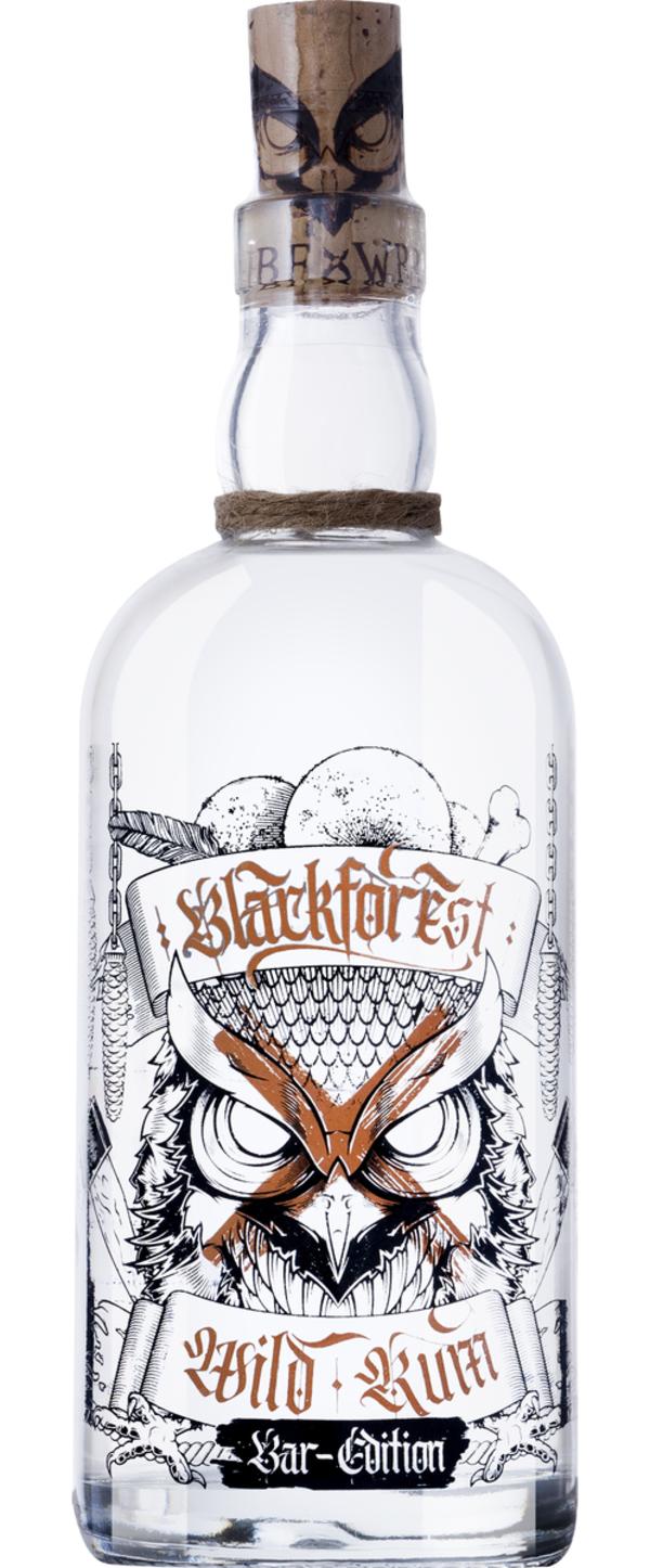 Blackforest Wild Rum Bar-Edition    - Rum - Wild Brennerei &, Deutschland, trocken, 0,5l