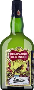 Compagnie des Indes Latino Rum 5 Jahre   - Rum, Guatemala, trocken, 0,7l