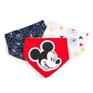 """""""Disney Micky Maus"""" Lätzchen für Neugeborene (J), 3er-Pack"""