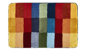 Kleine Wolke Badteppich  Cubi - mehrfarbig - 100 % Polyacryl - 60 cm