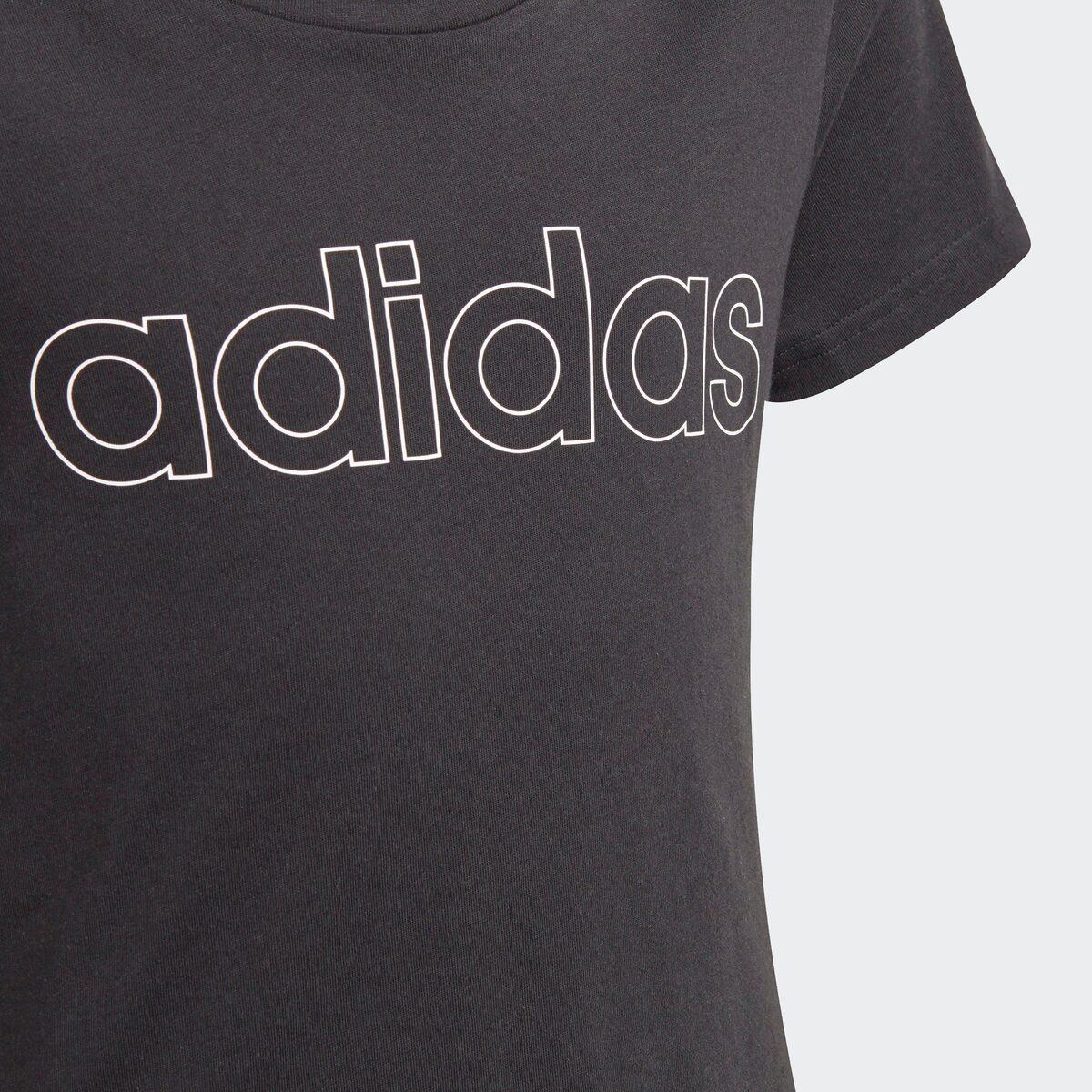 Bild 2 von adidas Performance Trainingsshirt »ADIDAS GIRLS ESSENTIALS LOGO TEE«