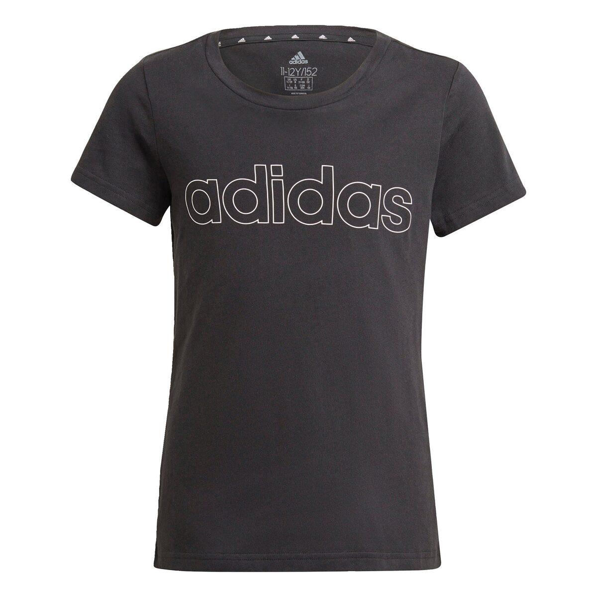 Bild 4 von adidas Performance Trainingsshirt »ADIDAS GIRLS ESSENTIALS LOGO TEE«