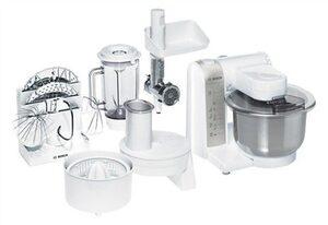 BOSCH Küchenmaschine MUM4880, 600 W, 3,9 l Schüssel, mit Edelstahl-Rührschüssel und viel Zubehör