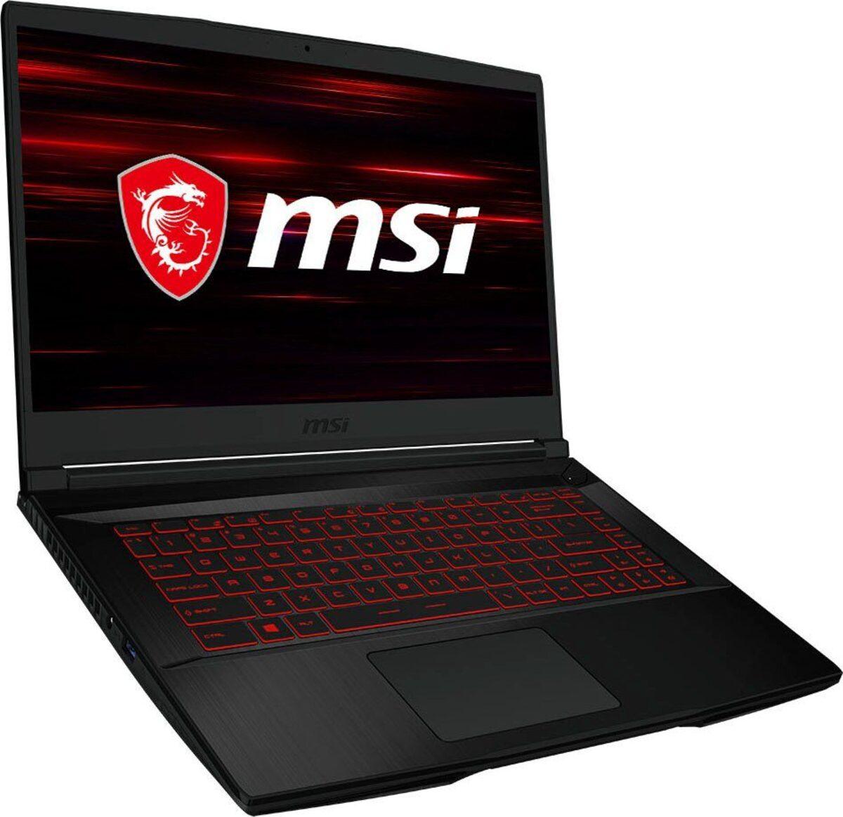 Bild 3 von MSI GF63 Thin 10SC-233 Notebook (39,6 cm/15,6 Zoll, Intel Core i5, GeForce GTX 1650, 512 GB SSD)