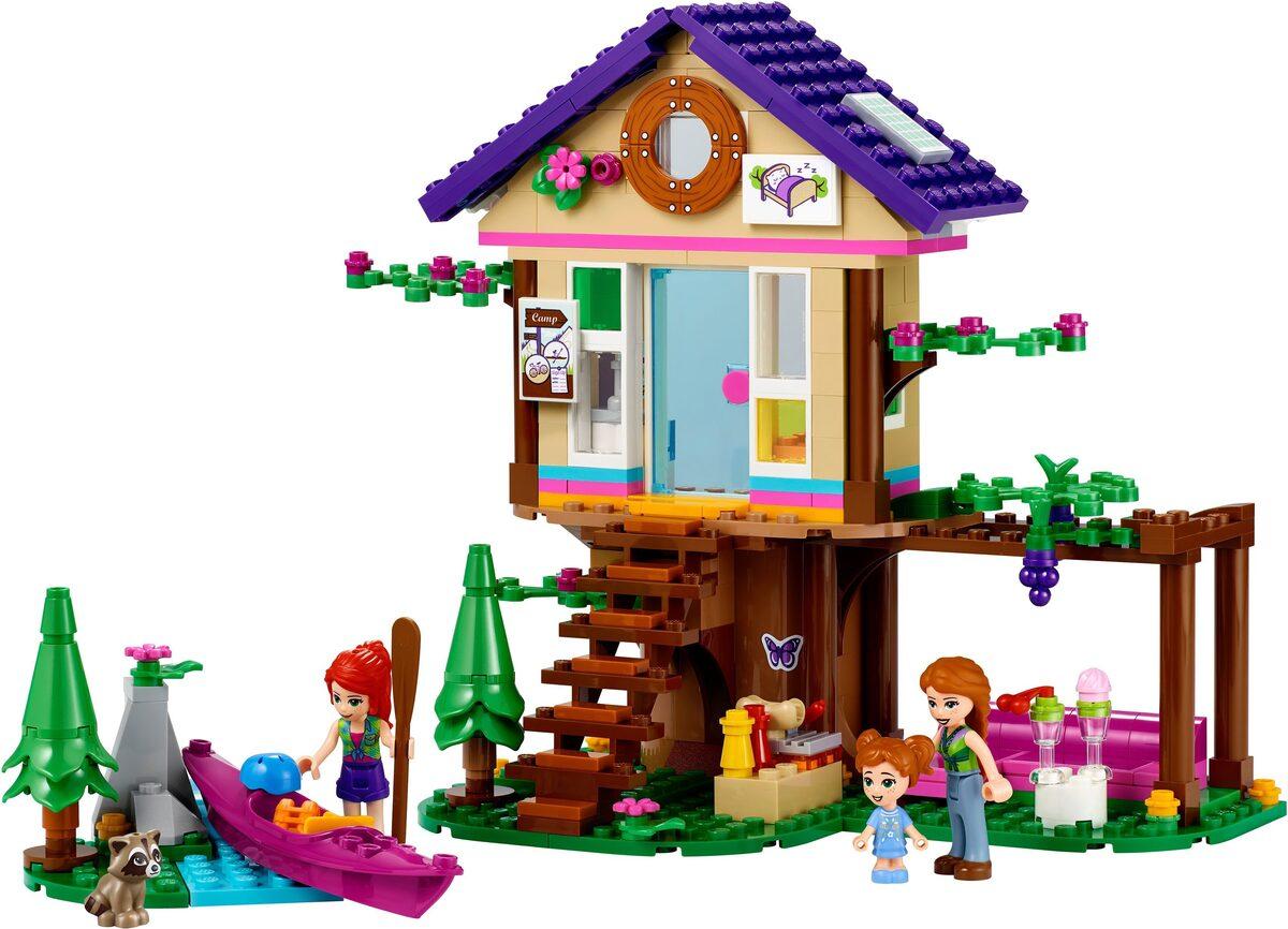 Bild 2 von LEGO® Konstruktionsspielsteine »Baumhaus im Wald (41679), LEGO® Friends«, (326 St)