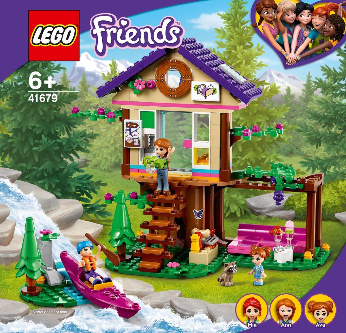 Bild 3 von LEGO® Konstruktionsspielsteine »Baumhaus im Wald (41679), LEGO® Friends«, (326 St)