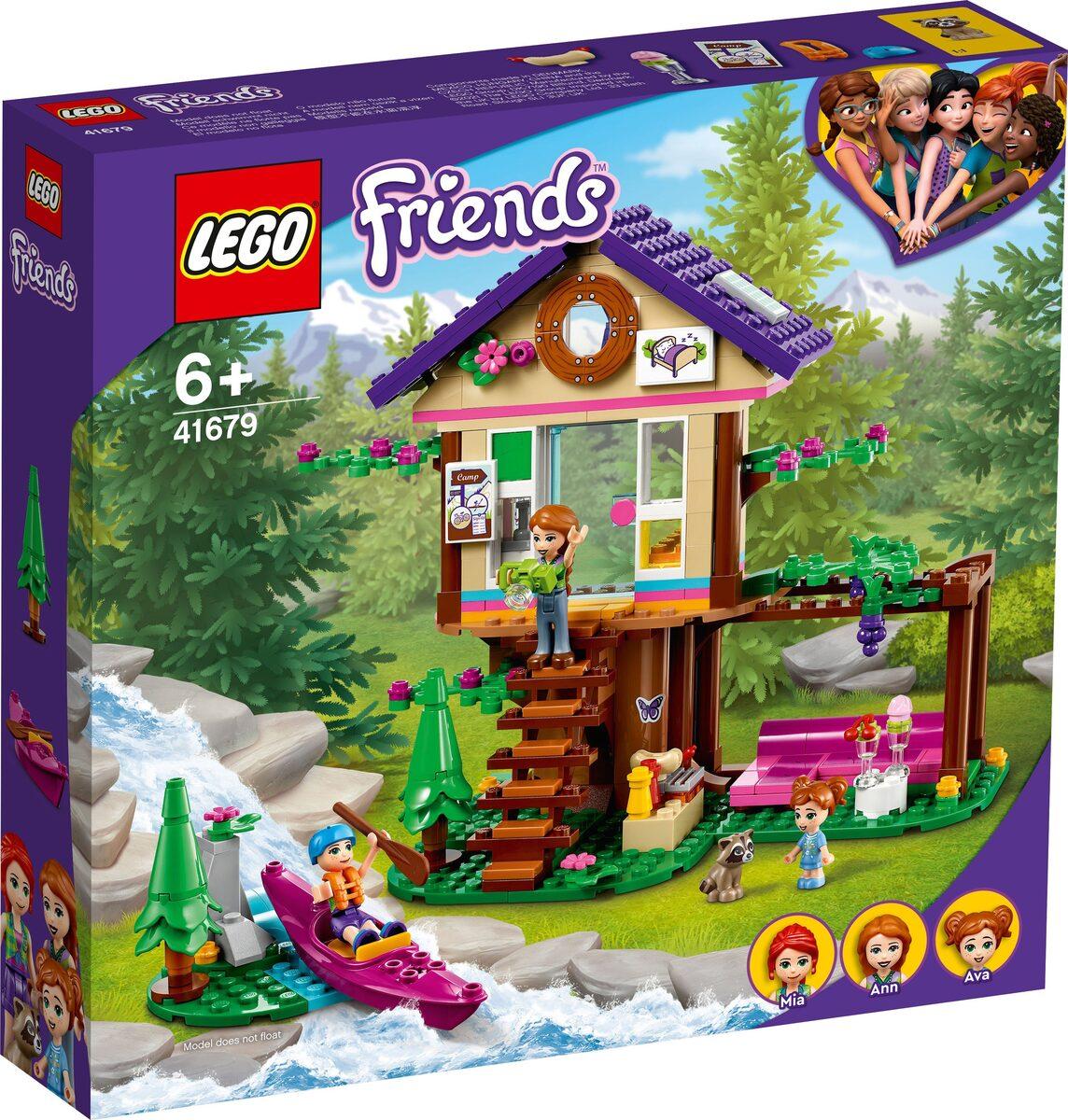 Bild 4 von LEGO® Konstruktionsspielsteine »Baumhaus im Wald (41679), LEGO® Friends«, (326 St)
