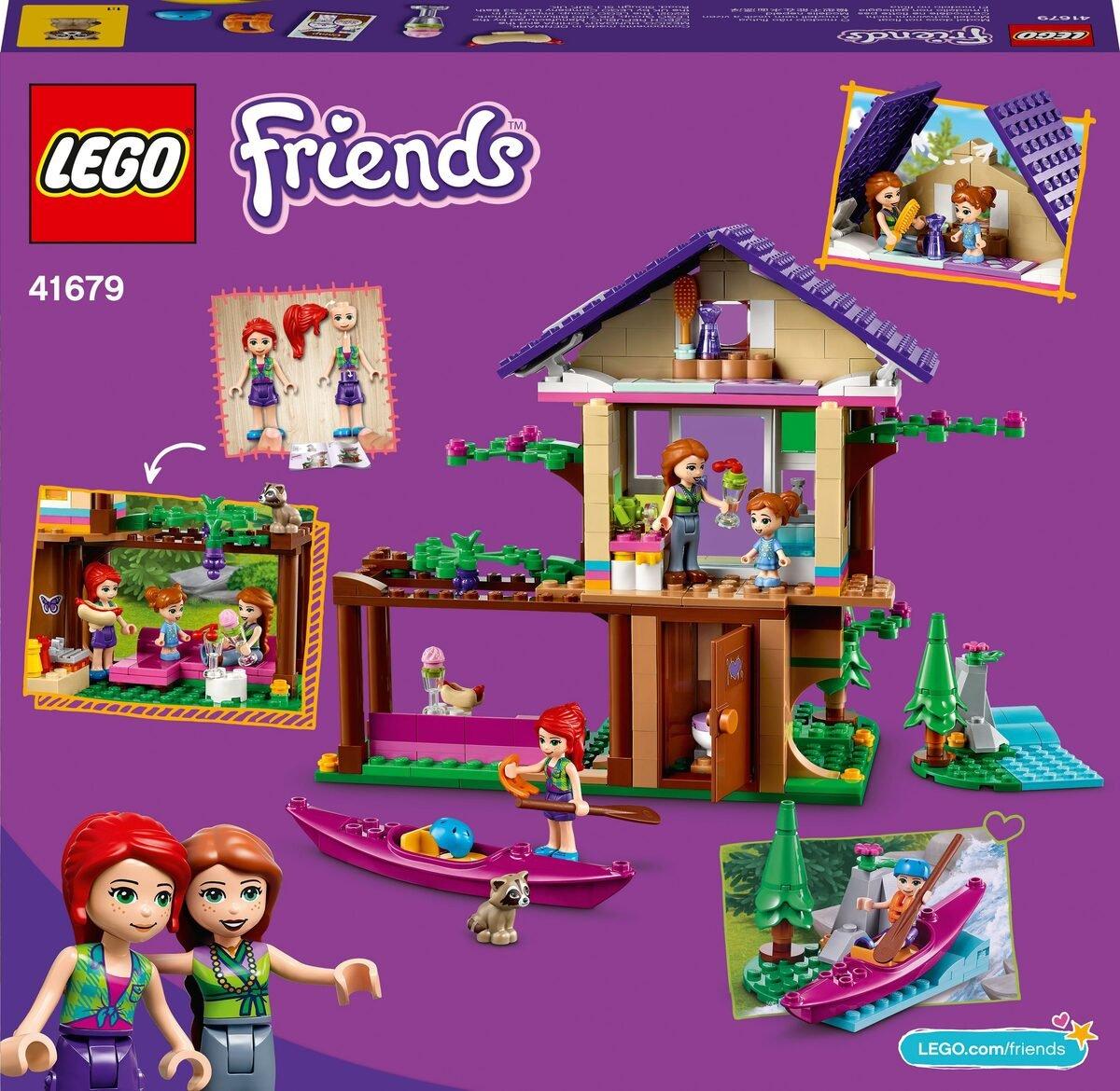 Bild 5 von LEGO® Konstruktionsspielsteine »Baumhaus im Wald (41679), LEGO® Friends«, (326 St)