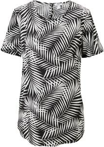 Viskose-Blusenshirt, bedruckt