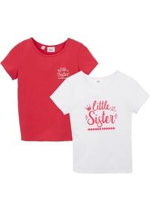 Mädchen T-Shirt (2er-Pack)