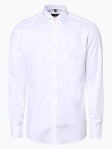 Eterna Slim Fit Herren Hemd Bügelfrei weiss Gr. 38
