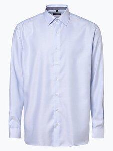 Eterna Modern Fit Herren Hemd - Bügelfrei blau Gr. 40