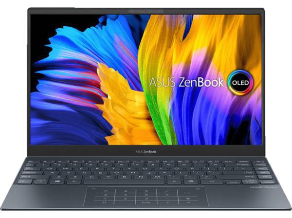 ASUS ZenBook 13 OLED UX325EA-KG327T, Notebook mit 13,3 Zoll Display, Intel® Core™ i5 Prozessor, 16 GB RAM, 512 SSD, Intel Iris Xᵉ Graphics, Pine Grey