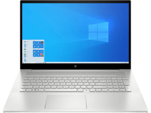 HP ENVY 17-CG1359NG I5-1135G7/16GB/1TB, Notebook mit 17,3 Zoll Display, Intel® Core™ i5 Prozessor, 16 GB RAM, 1 TB SSD, GeForce MX450, Silber