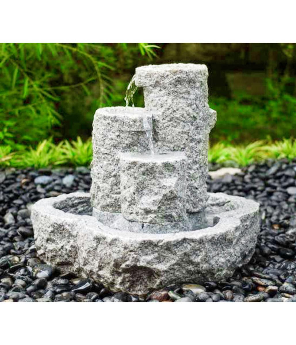 Bild 2 von Dehner Granit-Gartenbrunnen Heidelberg, ca. B50/H55/T50 cm