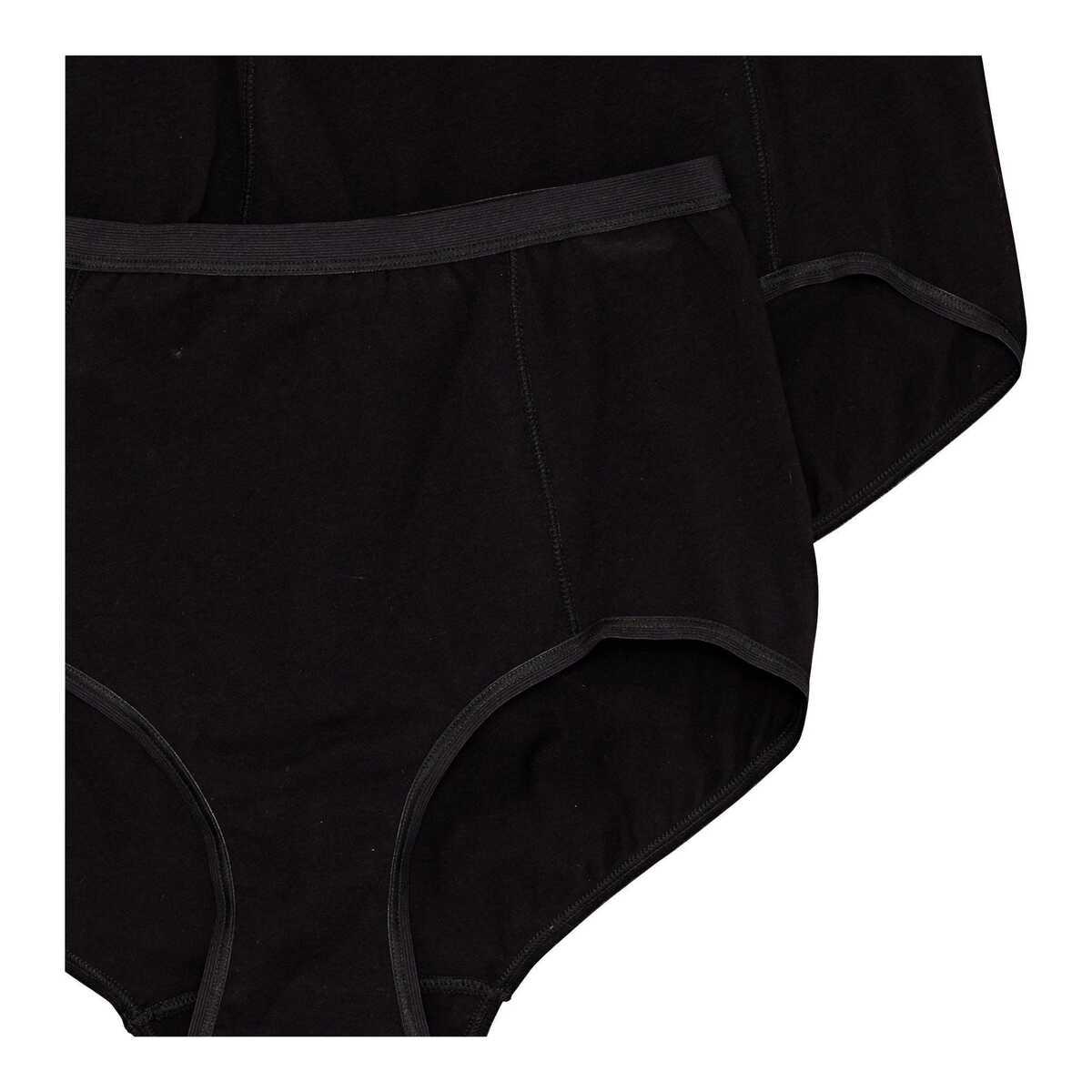 Bild 2 von Damen-Taillenslip mit Verstärkung, 2er Pack